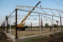 Восстановление геометрии металлоконструкций в Энгельсе и усиление зданий г.Энгельс