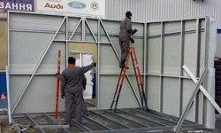 Строительство торговых павильонов в Энгельсе БМЗ