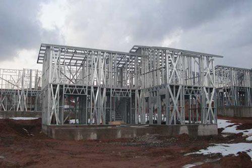 Здания на основе облегчённого металлического каркаса в Энгельсе
